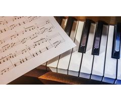 Музыкальные уроки - фортепиано